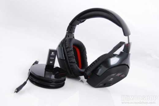 Logitech G930 7.1 vezeték nélküli gamer fejhallgató eladó cserélhető ... e7c9c75db6
