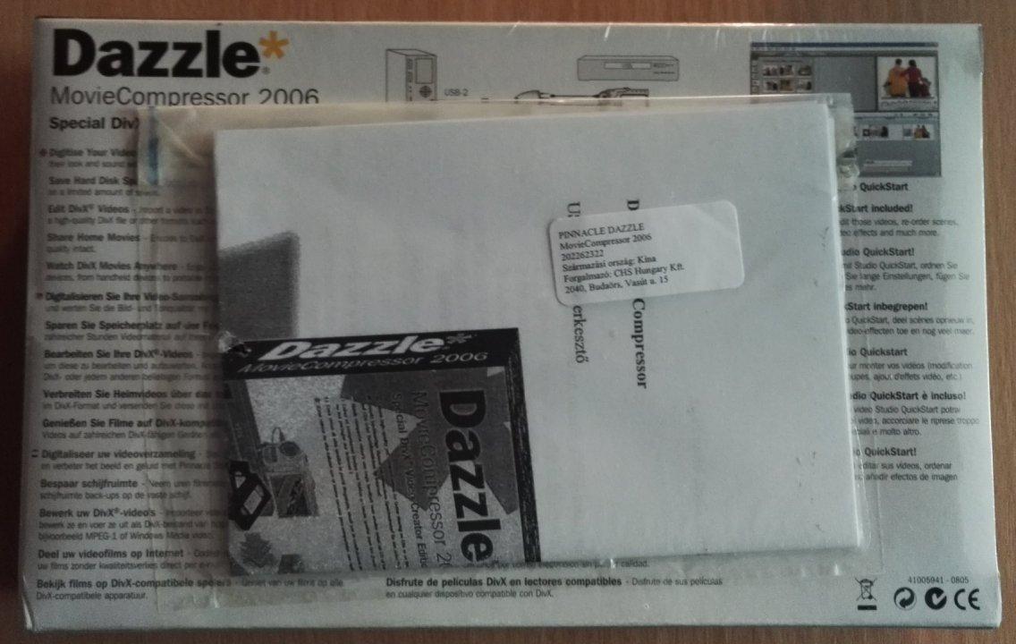 DAZZLE MOVIECOMPRESSOR 2006 64BIT DRIVER