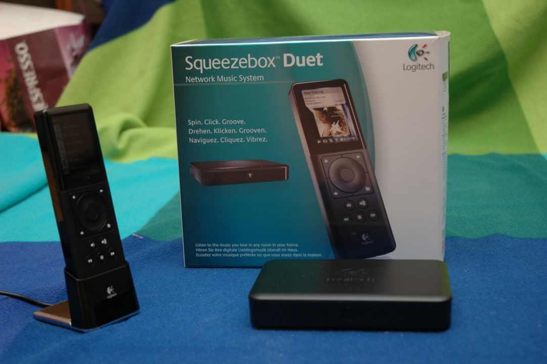 Logitech Squeezebox Duet ethernet-wifi zenelejátszó