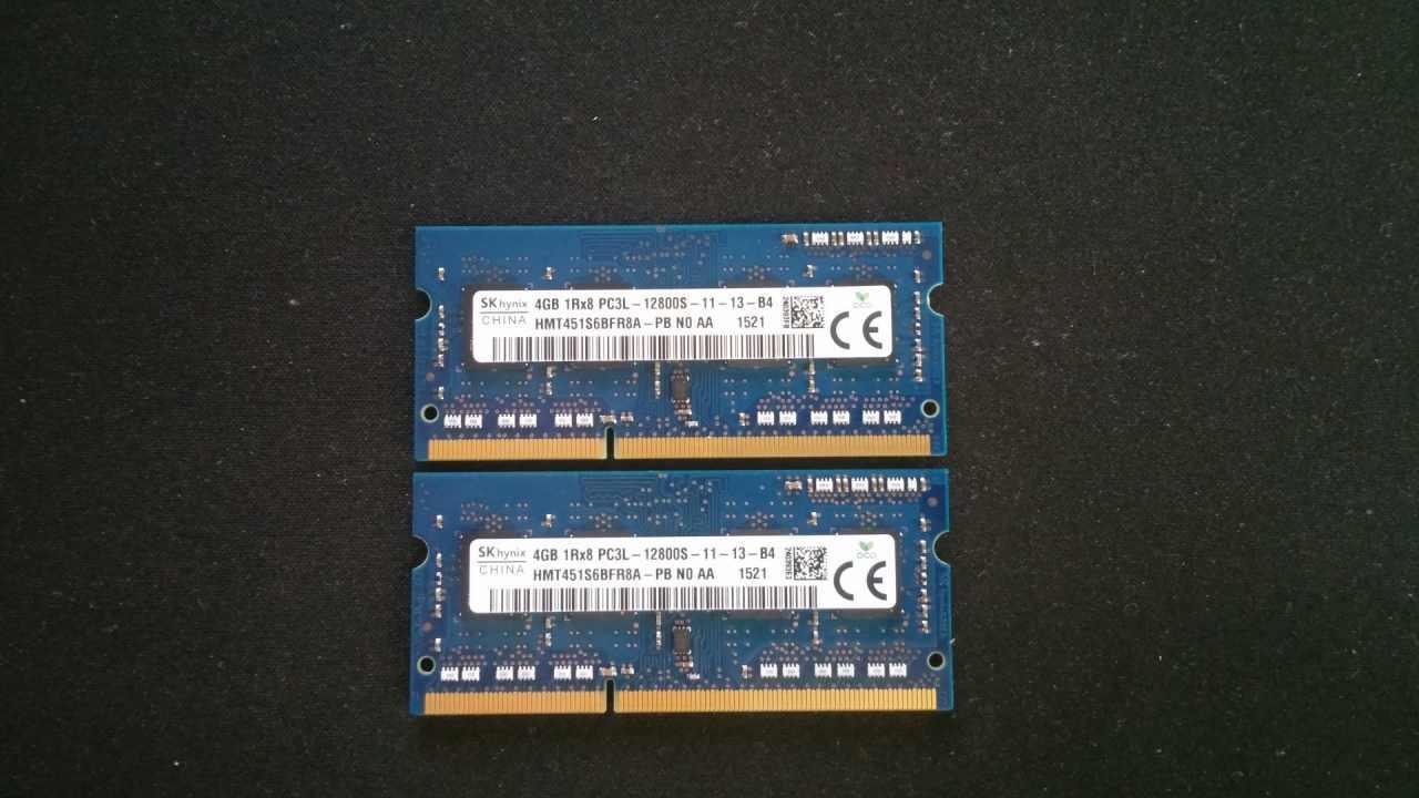 e2dbcb179b53 Eladó Hynix 8GB (2 x 4GB) DDR3 PC3-12800,1600MHz notebook memória ...