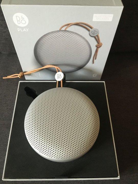 Eladó új Bang & Olufsen BeoPlay A1 bluetooth hangszóró