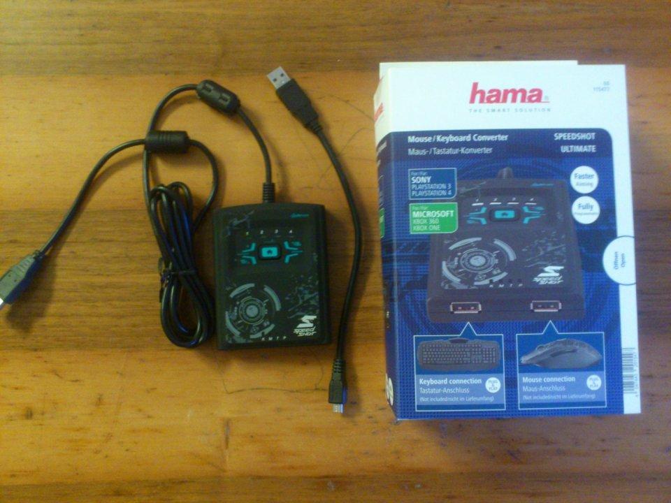 Eladó Hama Speedshot billentyűzet egér adapter. Vagy csere - HardverApró c26a3b26f6