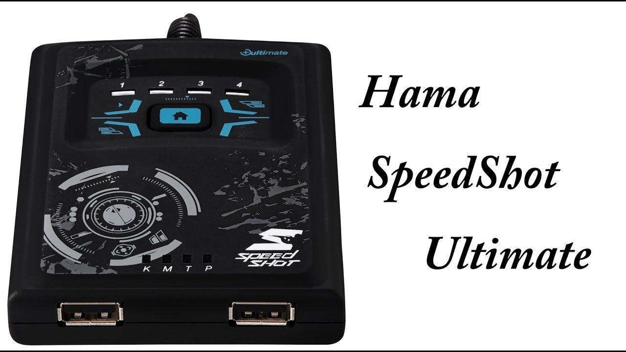 Eladó szinte új HAMA Speedshot billentyűzet egér konverter - HardverApró bddb31ea65