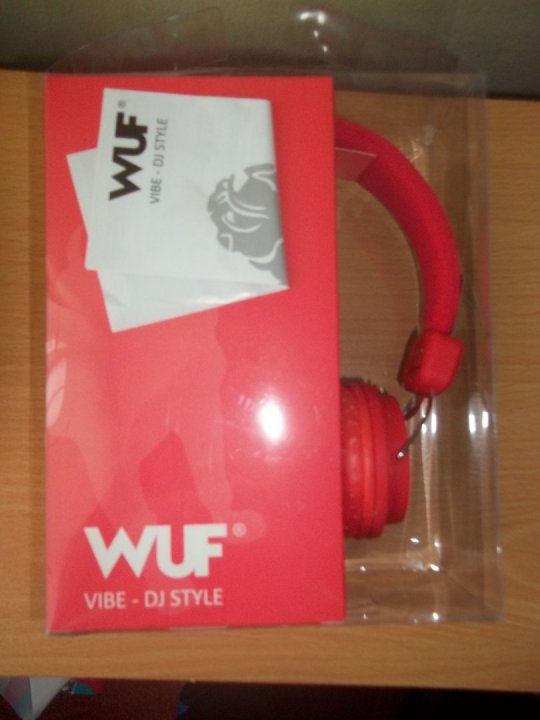 Wuf Vibe DJ Style fejhallgató Új HardverApró
