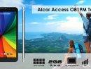Alcor Access O819M Táblagép (mobilinternet-re is alkalmas, beépített SIM olvasó)
