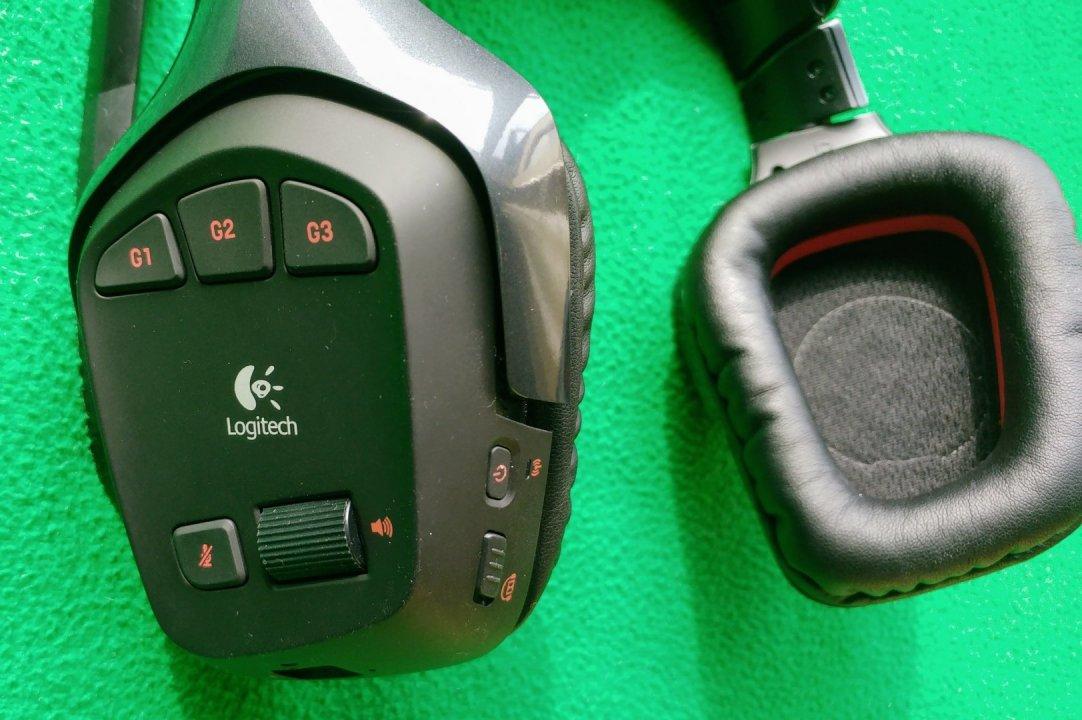 Eladó új garanciális Logitech G930 Wireless Gaming Headset ... eb77812359