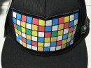 Rubik mintás, fekete baseball sapka eladó! - Rubik mintás, fekete baseball sapka eladó!