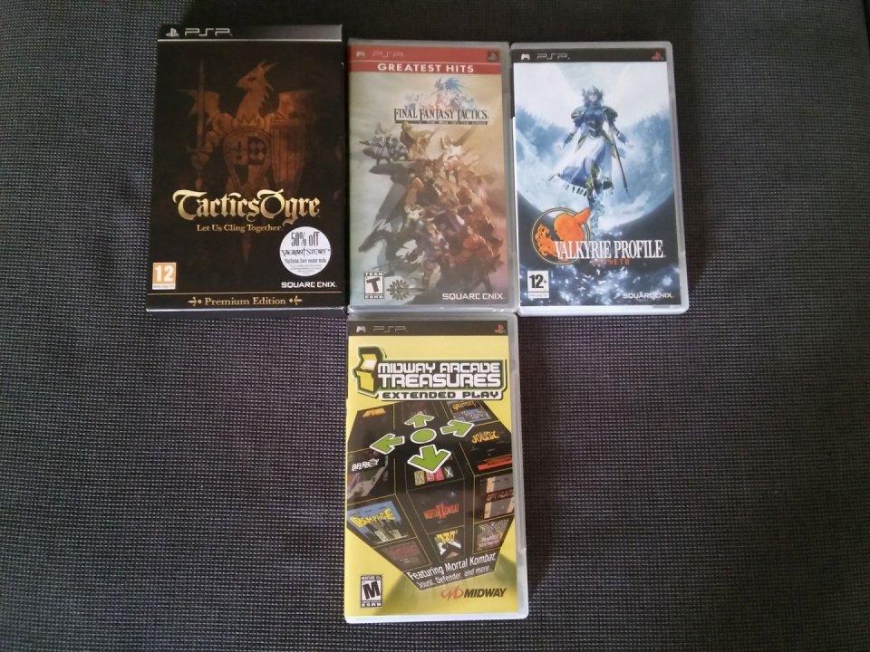 Psp játékok Tactics Ogre Premium - Final Fantasy Tactics