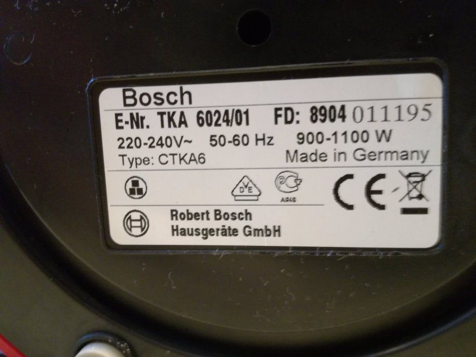 Bosch TKA6A643 filteres kávéfőző HardverApró