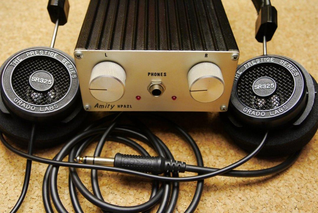 Grado Labs SR325 ref. fejhalgató Amity HPA2L erősítővel - HardverApró de154ab45b