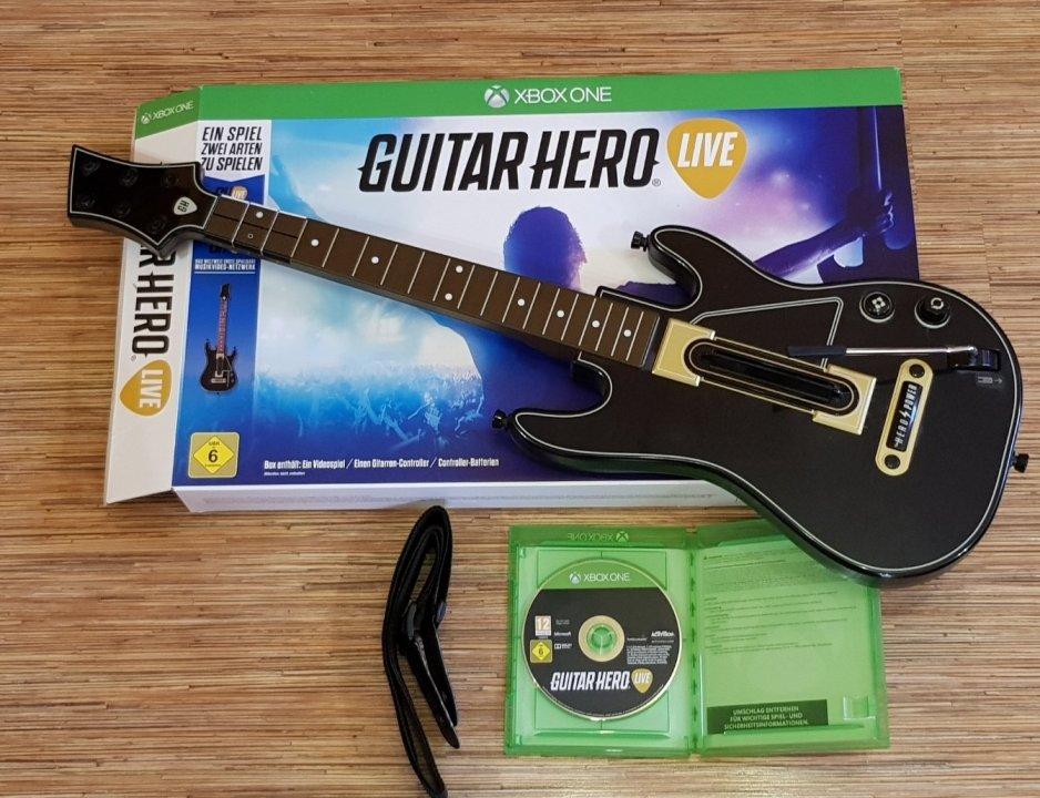 Guitar Hero Live Xbox One+Gitár - HardverApró