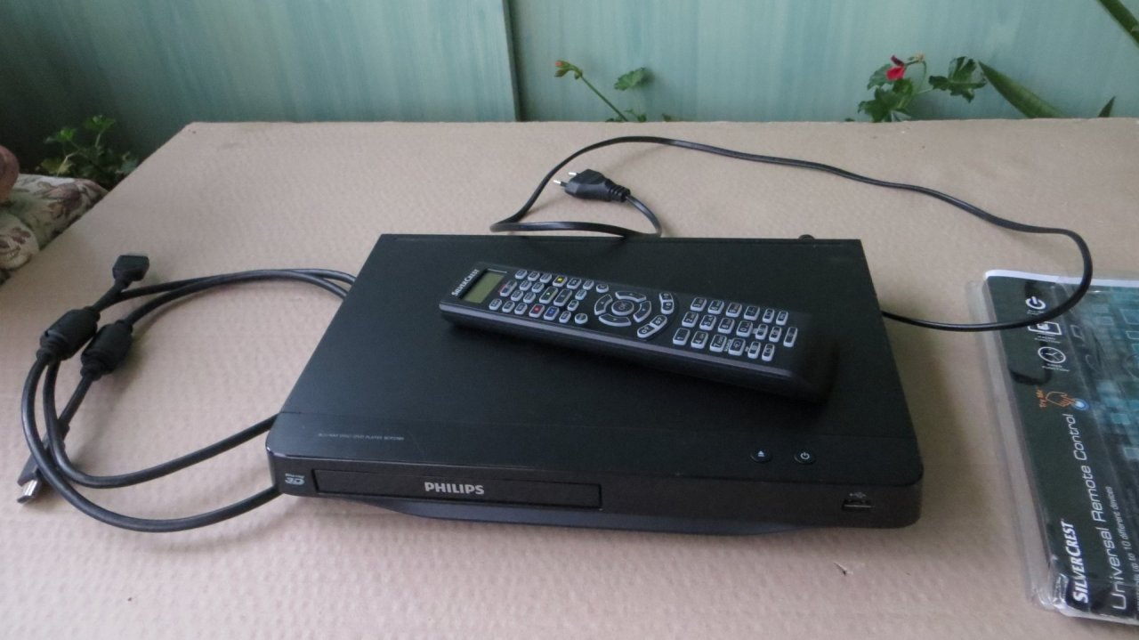 Philips BDP 2980 Blu ray DVD lejátszó (Csak USB s