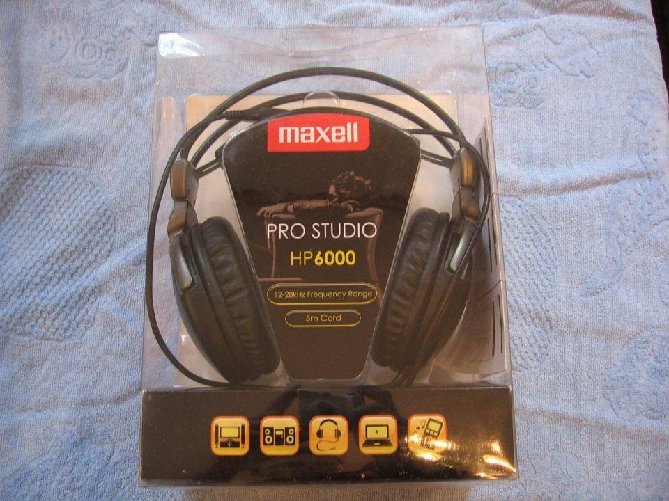 Maxell Pro Studio HP6000 - HardverApró af17291eff
