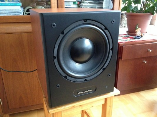 wharfedale wh 210 akt v subwoofer. Black Bedroom Furniture Sets. Home Design Ideas