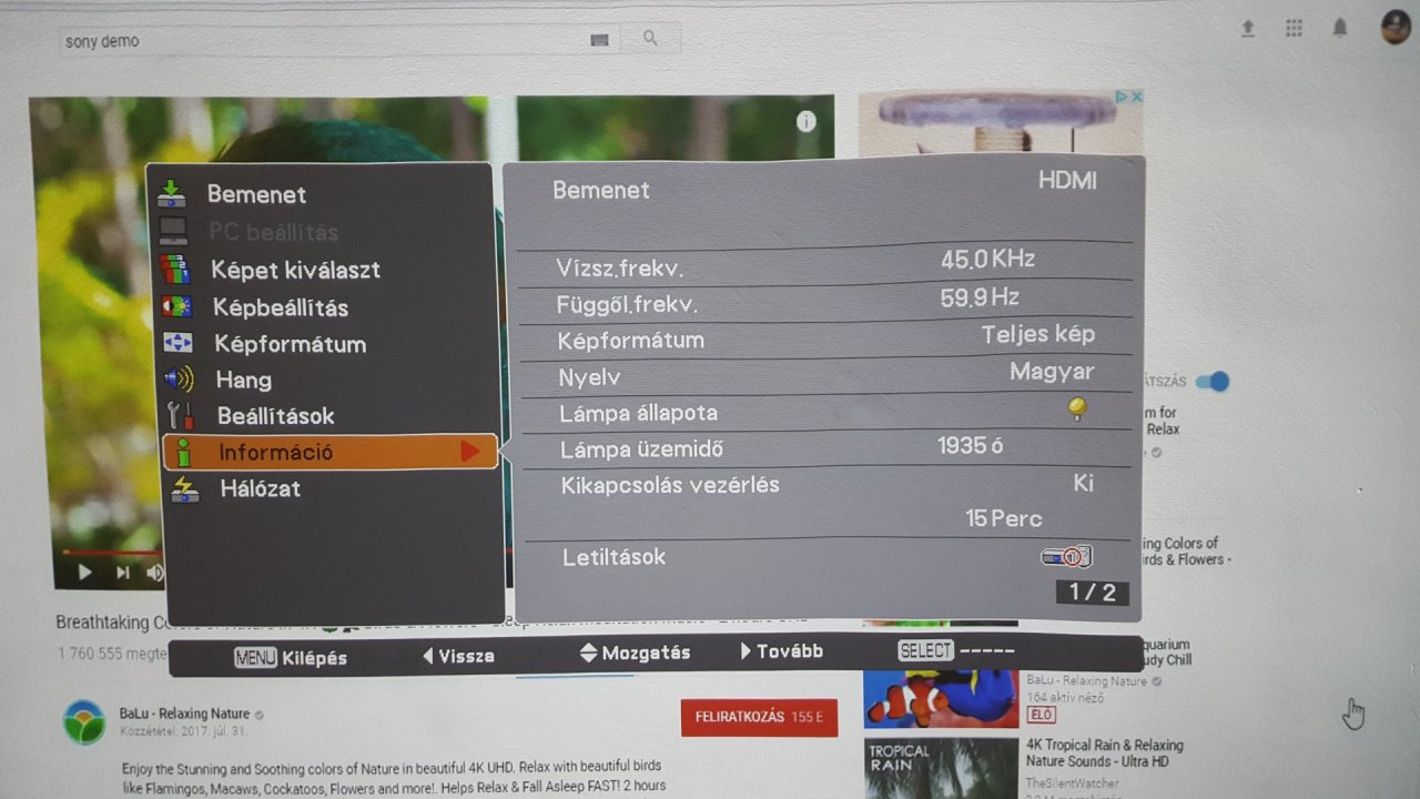 sanyo pdg-dwl2500 projektor 720p ultra rövid vetítés 3D rdy