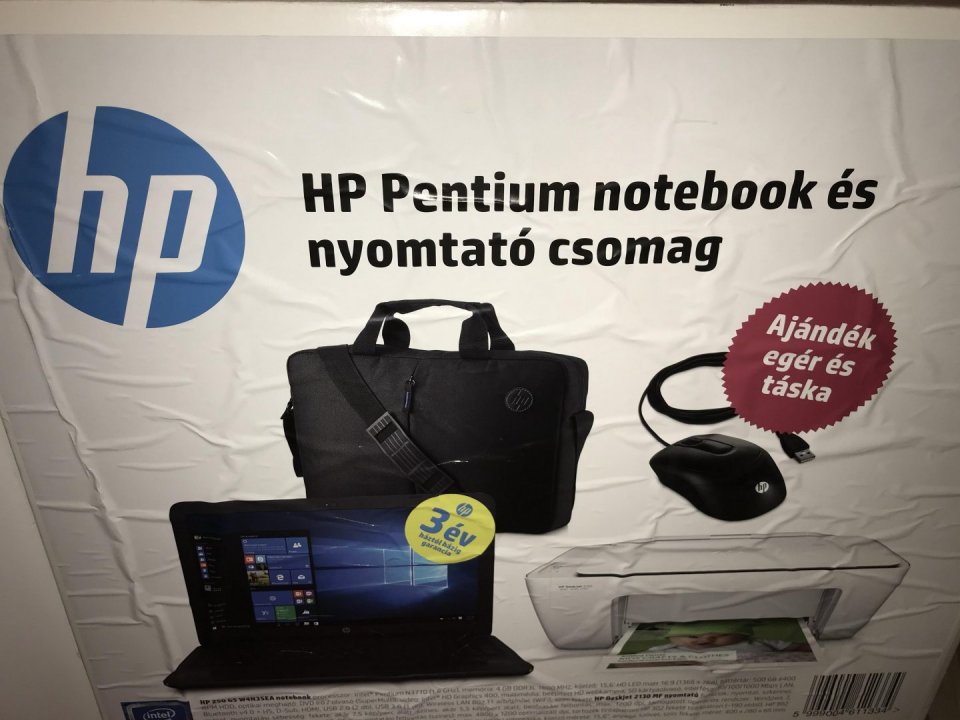 HP 250 G5 Új laptop csomag! - laptop fee656bb9b