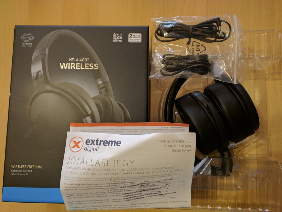 Sennheiser HD 4.40BT - Bluetooth-os 04d14633ac