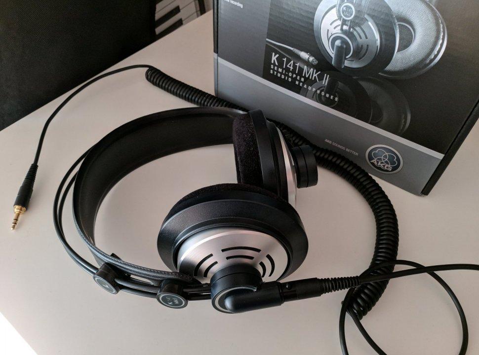 AKG K141 MkII stúdió fejhallgató ccfe0c02f6