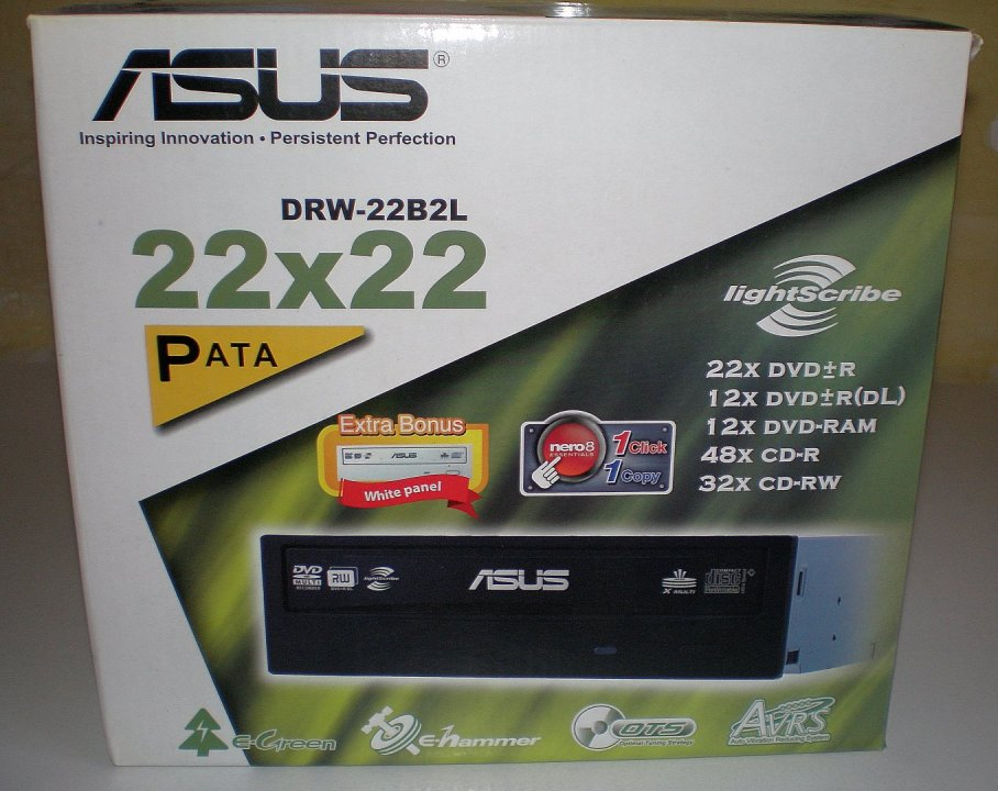NEW DRIVERS: ASUS DRW-22B2L