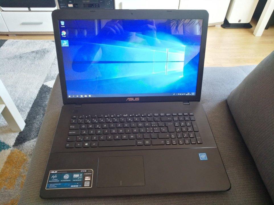 Asus X751M laptop újszerű állapotban eladó olcsóbb - HardverApró 208b8a10dc