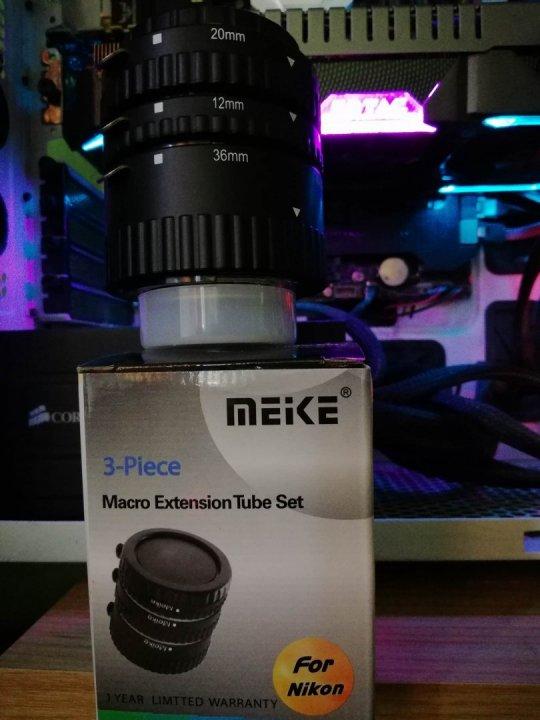 8dc0476a9e72 Meike közgyűrűsor fém vázzal (Nikon) Bolti ár fele ! Dobozos! Csere ...