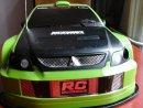 Mitsubishi RC nagy méretű rally autókaszni - Mitsubishi RC nagy méretű rally autókaszni