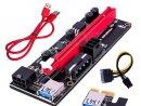 legújabb Ver 009s PCI-E Express 1x 16x Riser kártya új, bontatlan több db!! - legújabb Ver 009s PCI-E Express 1x 16x Riser kártya új, bontatlan több db!!