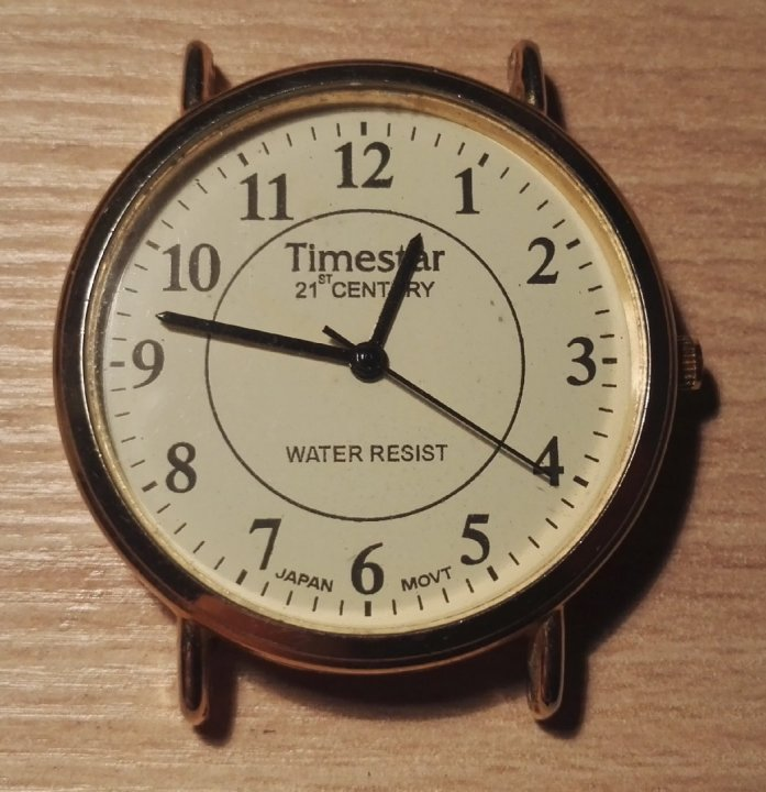 Timestar 21st Century - japán férfi kvarc karóra - hibátlan ea171dde24