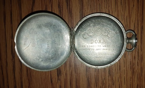 1906-os Neubart Sándor DOXA zsebóra ritkaság eladó! - HardverApró b19ba86c40