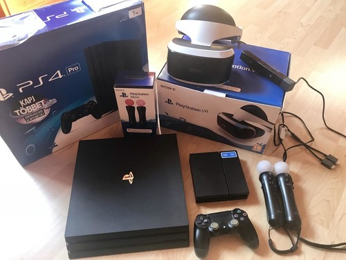 Playstation 4 Pro 1Tb CFW 5 05 Hen,Garanciális+VR headset+kamera+