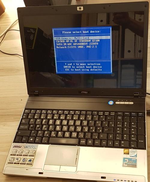 MSI VX600 Notebook VGA Driver for Windows Mac