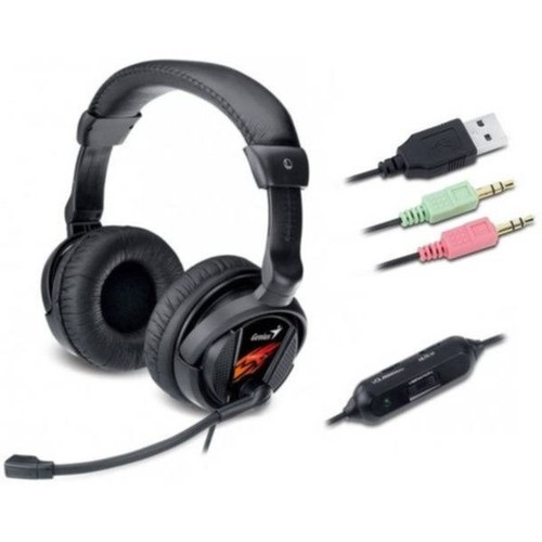 Genius HS-G500V gamer mikrofonos fejhallgató - HardverApró 2ca1a2d36f