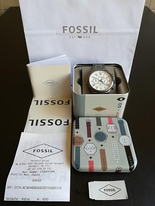 Új Fossil Férfi Karóra 2 Év Garancia - HardverApró 5f060a556a