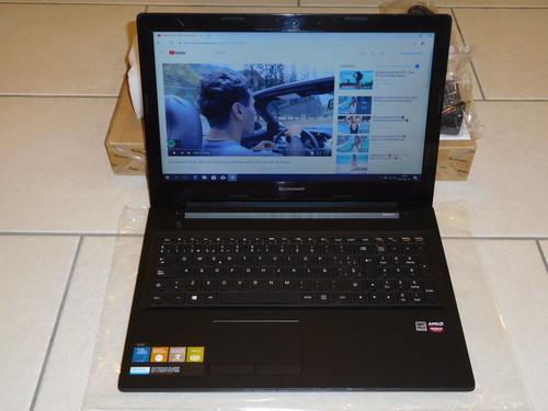 "Új Lenovo Slim Laptop Kis Gamer -40% 15,6"" G50-45 AMD A8"