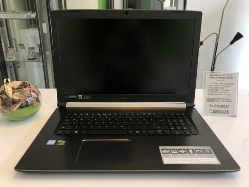 AKCIÓ! Acer Aspire 7 A717 brutál GAMER - i7 8750H 6MAG 16GB SSD+HDD ... dc8b9e52d6