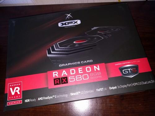 XFX RX 580 8Gb Triple X (bontatlan, gyári dual bios: gaming