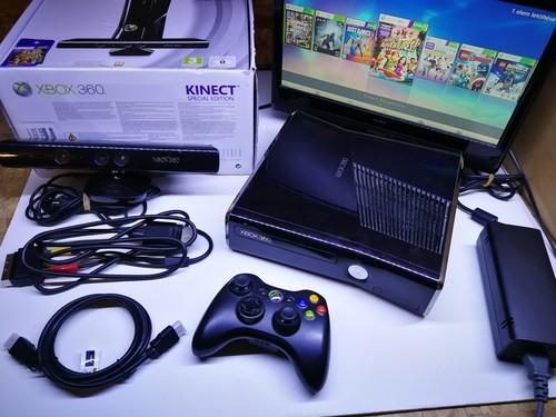 XBOX 360 slim RGH _ 250GB Kinect _ Aurora _ ingyne posta - HardverApró
