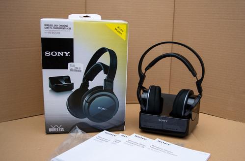 Eladó Sony MDR-RF855RK fejhallgató - HardverApró fc1aaf3526