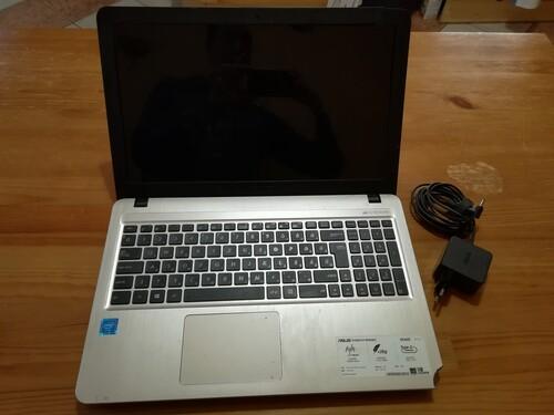 asus x540s notebook alaplap + töltő + DVD író alkatrésznek - HardverApró 22e49bdd46
