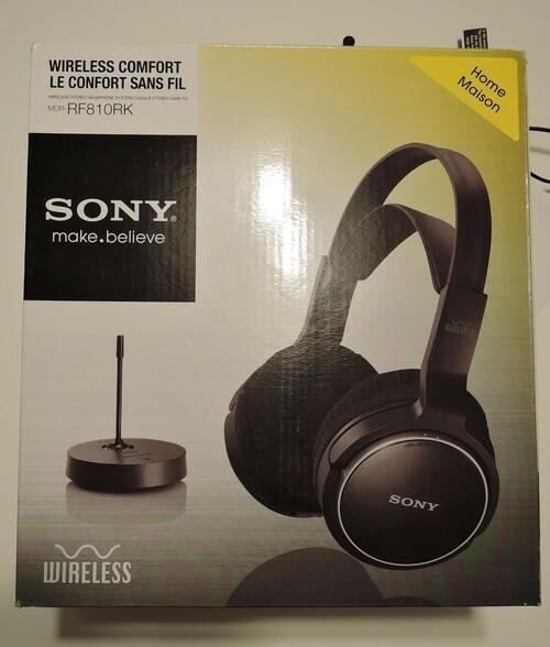 Sony vezeték nélküli fejhallgató - HardverApró 7cebad5c98