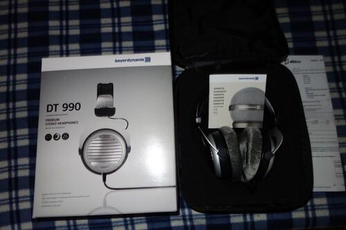 Beyerdynamic DT990 600 ohm-os makulátlan garanciális fejhallgató ... 76a6e88726
