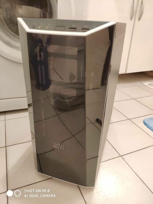 CoolerMaster MasterBox Lite 5 plexi oldallapos ház eladó - HardverApró 76702b2d61