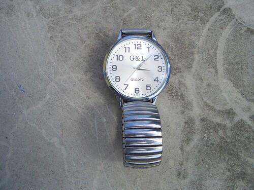G L Férfi karóra Quartz óra szép állapotú b4ae791942