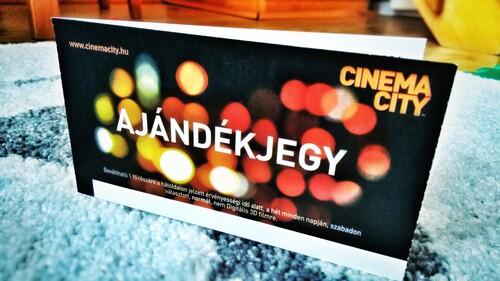 Cinema City ajándéjegy 2 fő részére! - HardverApró a5c66149a0