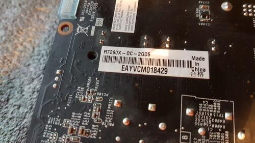 Eladó Asus Radeon R7 260X-OC-2GB GDDR5 128bit videókártya
