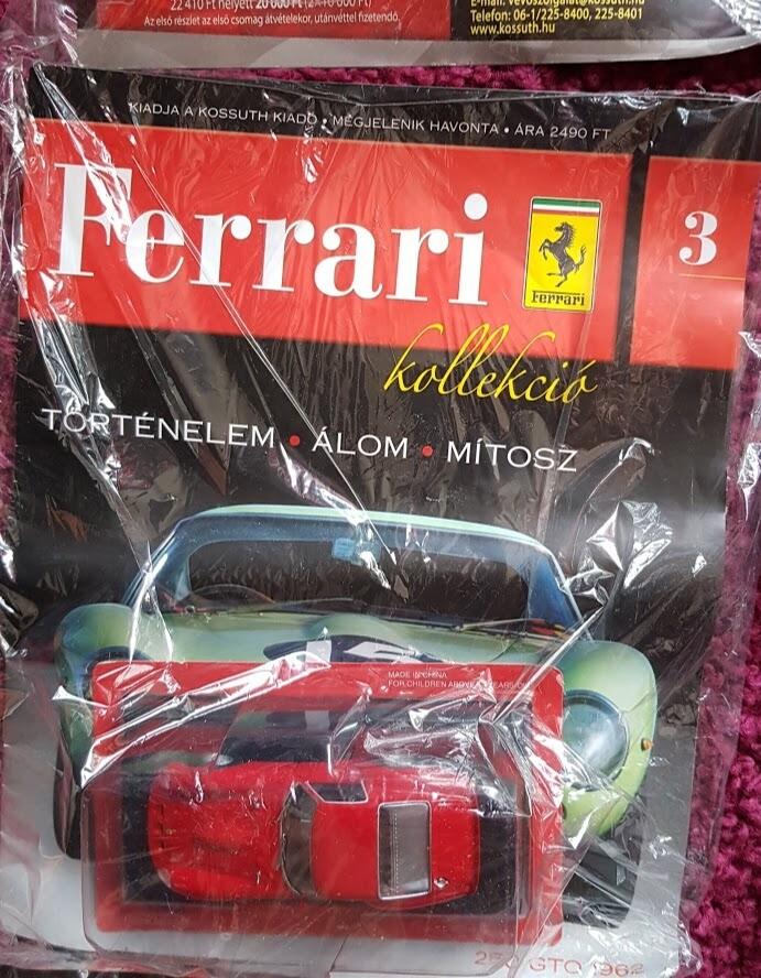 8e14489150 Eredeti Ferrari kollekció egyben eladó - HardverApró