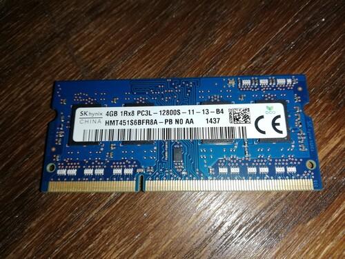 8dd15ee135a8 Eladó Hynix 4GB DDR3L-1600MHz 1.35V (HMT451S6BFR8A-PB) memória, vagy ...