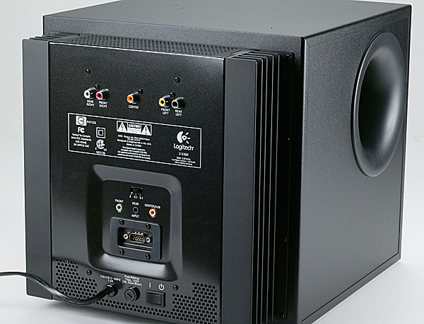 Anyway to connect old THX Z-5300e subwoofer to rec... - Logitech ...