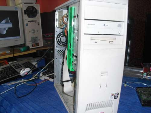 Egykori játékos gép 6ezer Ft ért (Athlon XP 1500+ 384MB RAM
