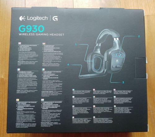 Eladó BONTATLAN garanciális Logitech G930 Wireless Gaming Headset ... 091972799b